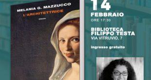 """Appuntamenti letterari a Formia, Melania Mazzucco presenta """"L'architettrice"""""""