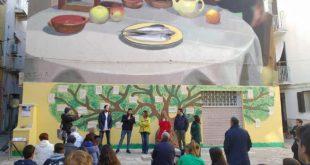 Gaeta, inaugurata la 'Parete della Poesia' in Piazza Goliarda Sapienza (#foto)