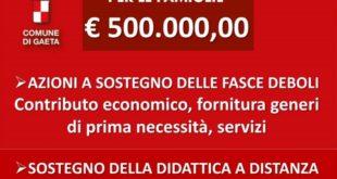 Gaeta, 500.000,00 euro per potenziare i servizi per le persone con disagio sociale ed economico