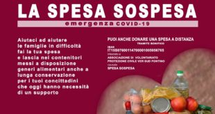 "Coronavirus, a Formia parte ""La Spesa Sospesa"""